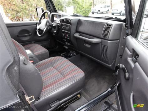 1999 jeep wrangler interior 1999 jeep wrangler sport 4x4 interior photo 46805058