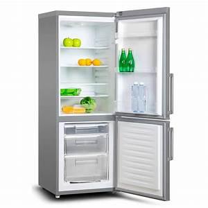 Kühlschrank Tiefe 50 : k hlschrank gefrierschrank k hl gefrier kombination kombi 194 liter a silber ebay ~ Markanthonyermac.com Haus und Dekorationen