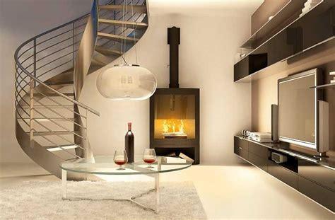 awesome la maison du poele a bois 12 salon avec chemin 233 e et escalier moderne swyze