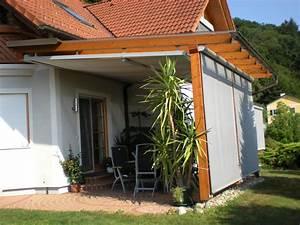 Terrassenüberdachung Aus Stoff : flexibler regenschutz auf ihrer terrasse zum werkspreisallwetterschutz ~ Markanthonyermac.com Haus und Dekorationen