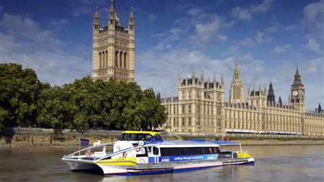 Boat Service London by London River Bus Services On The Thames Traveller