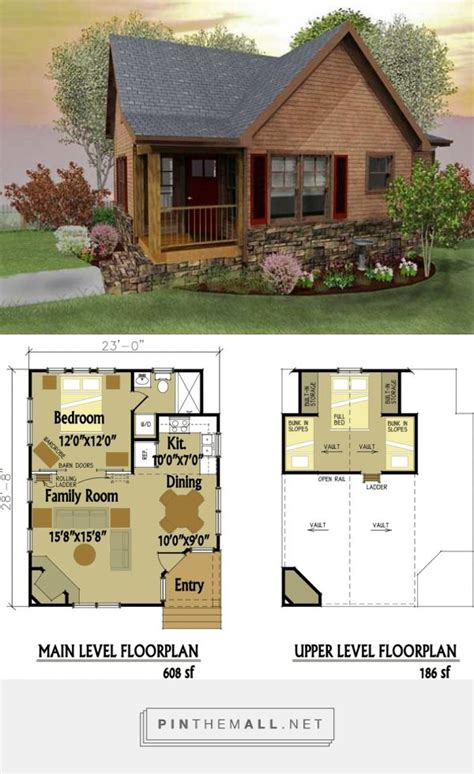 best 25 small cabin plans ideas on cabin plans tiny cabin plans and small log