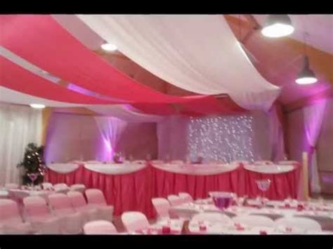 mariage theme fushia decorations salles mariage salles de fetes