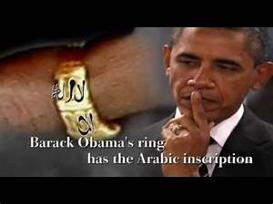 President Obama wears a ring with the inscription 'There ...