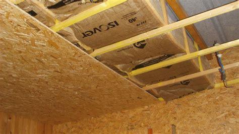 isolation sous plafond