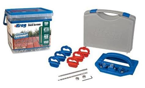 combo kreg deck jig kjdecksys 700 deck screws ebay