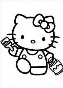 Kinder Bilder Malen : 18 besten hello kitty ausmalbilder bilder auf pinterest ausdrucken ausmalbilder hello kitty ~ Markanthonyermac.com Haus und Dekorationen