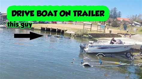 Boat Safety Videos Free by Drive Boat On Trailer Go Fishing Solo How To Video Boating