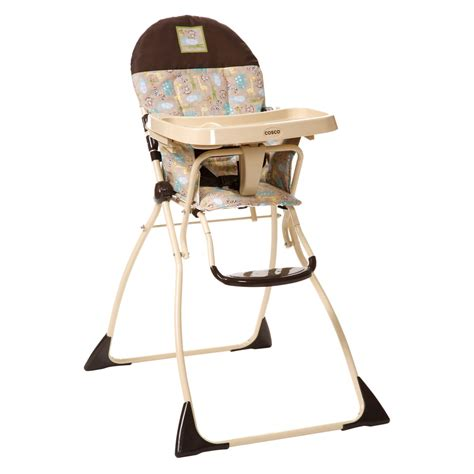 dorel juvenile cosco flat fold high chair kontiki baby