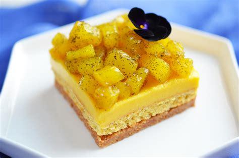 entremets exotiques mangue ananas d 233 pices