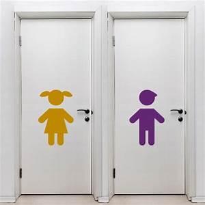 Toilette Für Kinder : wandtattoos schilder piktogramme von wandtasie wc schild kinder ~ Markanthonyermac.com Haus und Dekorationen