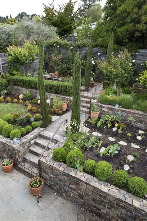 Slope Yard Ideas by 875 Best Landscaping A Slope Images On Pinterest