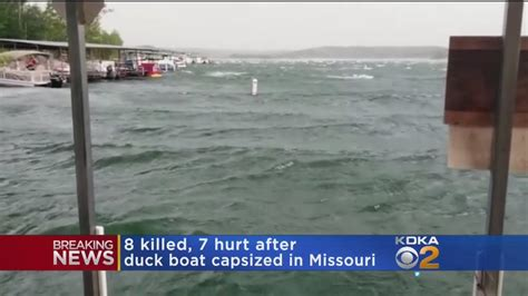 Duck Boat Capsized Video by Duck Boat Capsizes On Missouri Lake At Least 8 Dead Youtube