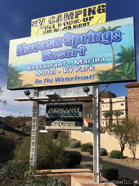 Casino Beach Boat Rv Storage by Havasu Springs Resort Parker Arizona