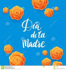 Happy Mothers Day Spanish Greeting Card. Beautiful ...