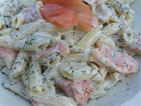 recettes de salade de p 226 tes et saumon fum 233