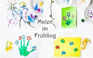 Kinder Bilder Malen : 12 ideen zum malen im fr hling mit kindern mama kreativ ~ Markanthonyermac.com Haus und Dekorationen