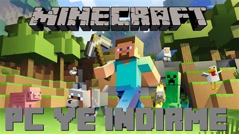 Bilgisayara Ücretsiz Minecraft İndirme