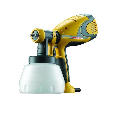 wagner spray duty hvlp sprayer 0518050 the home depot