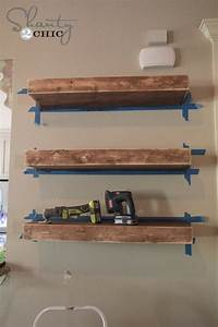 how to build wall shelves DIY Floating Shelves