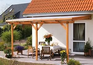 überdachte Terrasse Bauen : berdachung aus transparentem kunststoff obi ratgeber ~ Markanthonyermac.com Haus und Dekorationen