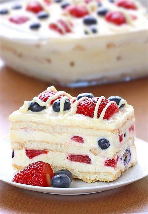 no bake summer berry icebox cake recipe summer dessert recipes dessert recipes and berry