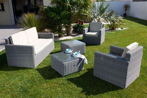mobilier de jardin resine tressee pas cher bricolage maison et d 233 coration