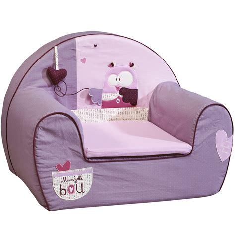 mam zelle bou fauteuil club violet de sauthon baby d 233 co fauteuils aubert