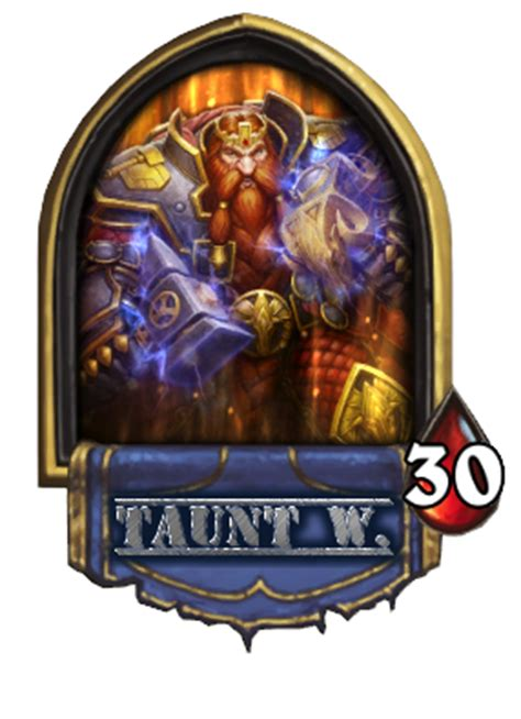 markw s new taunt warrior eu hearthstone decks