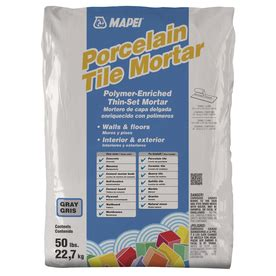 shop mapei ultraflex 2 gray 50 lb gray powder polymer modified mortar at lowes