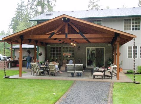 cheap covered patio ideas landscaping gardening ideas