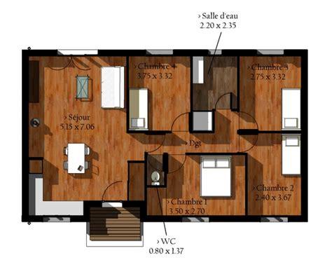 exemple de maison en bois en kit pas cher maison eco bois