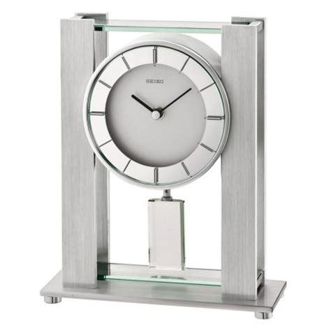 pendule rectangle 224 poser seiko qhn007sn avec balancier