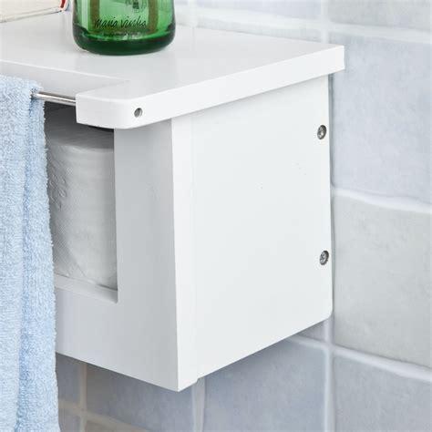 sobuy 174 d 233 rouleur papier toilette distributeur wc porte papier mural frg175 w fr