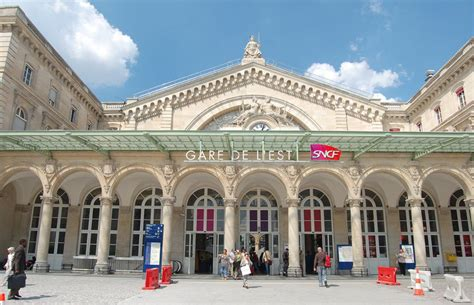 gare de l est station rail station rail europe