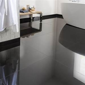 Küchentisch 60 X 60 : carrelage sol et mur noir effet uni crystal x cm leroy merlin ~ Markanthonyermac.com Haus und Dekorationen
