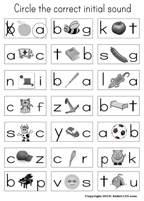 Phonics Worksheets Kindergarten Printables Free Worksheets For All  Download And Share