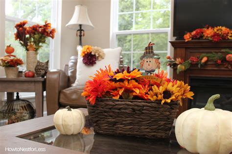 Fall Decorating : Fall Decorating On A Budget