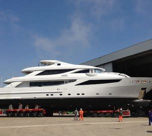 Whispering Angel Boat Owner by Isa Launch 41m Luxury Yacht Aziza Yacht Charter