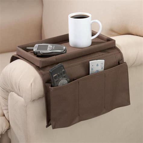 Armchair Caddy  Chair Organizer  Armchair Tray Easy
