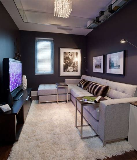 Small Space Interior Urban Living In 2018  Media Room