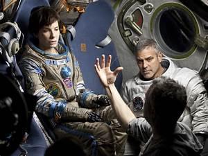 Exclusive: Alfonso Cuaron and Sandra Bullock Take You ...