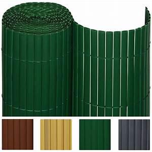 Balkon Sichtschutz Grün : sichtschutzzaun pvc sichtschutzmatte sichtschutz windschutz balkon garten zaun ebay ~ Markanthonyermac.com Haus und Dekorationen