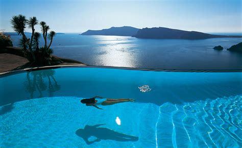 Infinity Pool : Top 10 Santorini Hotels With Infinity