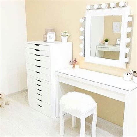 Malm Dressing Table Ikea Hack  Nazarmm. White Glossy Desk. Heavy Duty Drawer Glides. Wall Mounted Drawer Shelf. Office Writing Desk. Hardware For Furniture Drawer Pulls. Solid Wood Secretary Desk. Time Warner Cable Help Desk. Lift Top Coffee Table Espresso