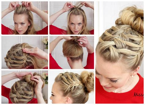 How To Braid My Own Hair-step-by-step-diy-tutorial-instructions Auburn Hair Curly Hairstyles Ideas For Short Best Edgy Haircut Long Blonde Straight New Lob Medium Back Haircuts In Quincy Ma Mask Using Olive Oil And Honey