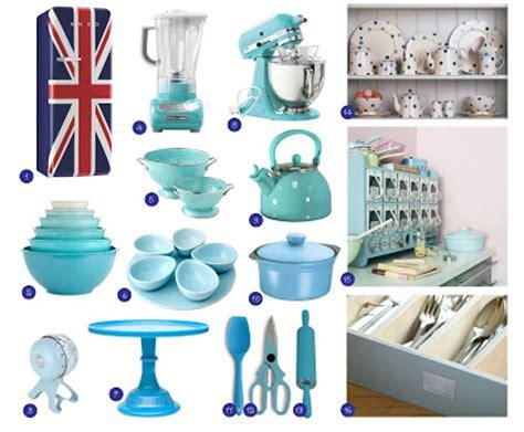 The Pendora's Box Monday Blue  Matching Kitchen