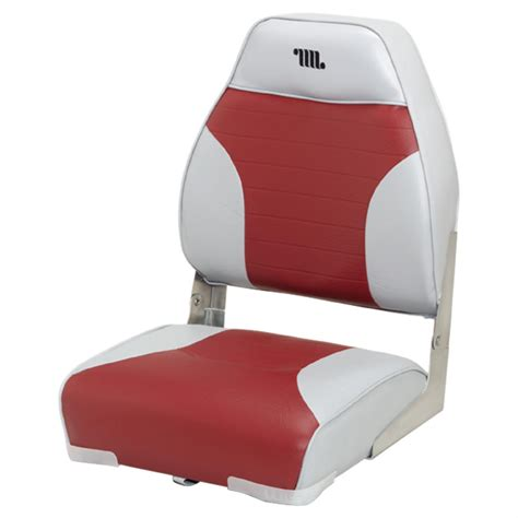Red Fishing Boat Seats by Guide Gear Low Back Boat Seat 217023 Fold Down Seats At