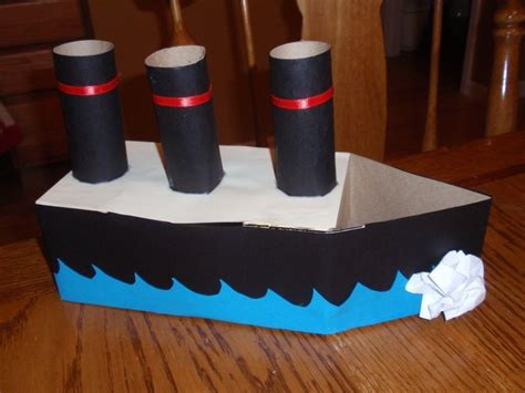 Easy Cardboard Boat Making by How To Make A Cardboard Boat For Kids Easy Origami