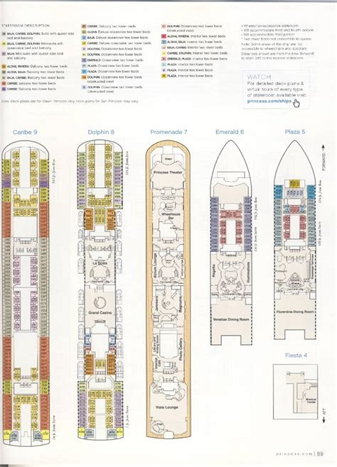 princess deck plan